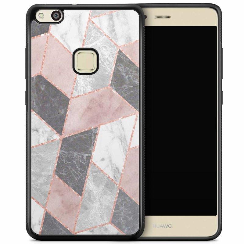 Huawei P10 Lite hoesje - Stone grid