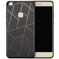 Huawei P10 Lite hoesje - Marble grid