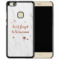 Huawei P10 Lite hoesje - Don't forget to be awesome