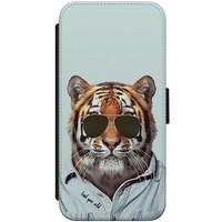 iPhone 7/8 flipcase - Tijger wild