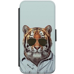 iPhone 8/7 flipcase - Tijger wild