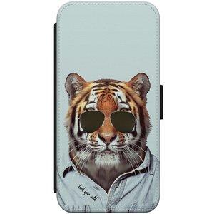 iPhone 8/7 flipcase - Tijger wild