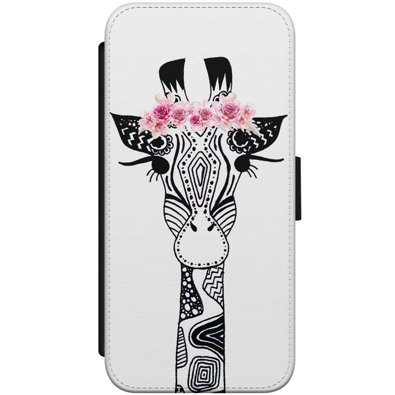 iPhone 7/8 flipcase - Giraffe