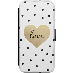 iPhone 8/7 flipcase - Love dots