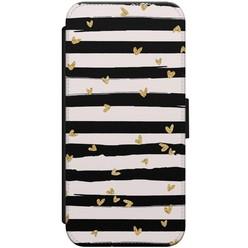 iPhone 8/7 flipcase - Hart & streepjes
