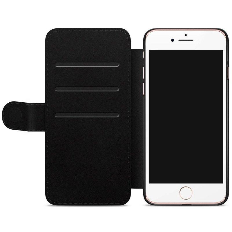iPhone 7/8 flipcase - Hart & streepjes