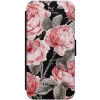 iPhone 7/8 flipcase - Moody flowers
