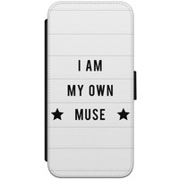 iPhone 7/8 flipcase - I am my own muse