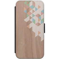 iPhone 8/7 flipcase - Wood blocks