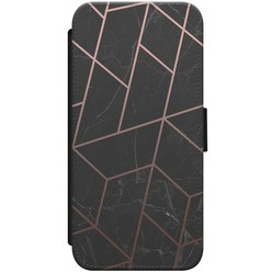 iPhone 7/8 flipcase - Marble grid