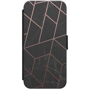 iPhone 8/7 flipcase - Marble grid