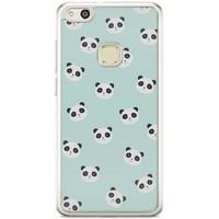 Casimoda Huawei P10 Lite siliconen hoesje - Panda print