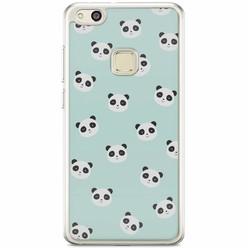 Huawei P10 Lite siliconen hoesje - Panda print
