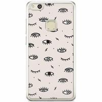 Casimoda Huawei P10 Lite siliconen hoesje - Eyes on you
