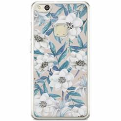 Casimoda Huawei P10 Lite siliconen hoesje - Touch of flowers