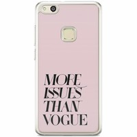 Casimoda Huawei P10 Lite siliconen hoesje - Vogue issues