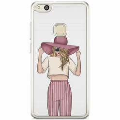 Huawei P10 Lite siliconen hoesje - Summer girl