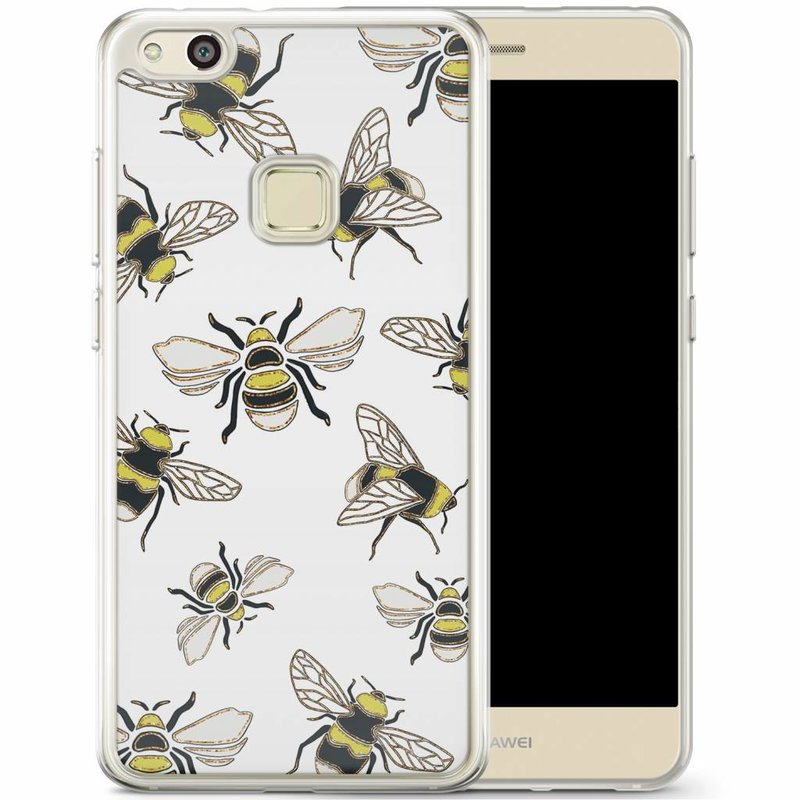 Casimoda Huawei P10 Lite siliconen hoesje - Queen bee