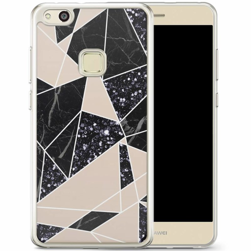 Casimoda Huawei P10 Lite siliconen hoesje - Abstract painted