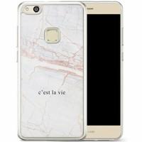 Casimoda Huawei P10 Lite siliconen hoesje - C'est la vie
