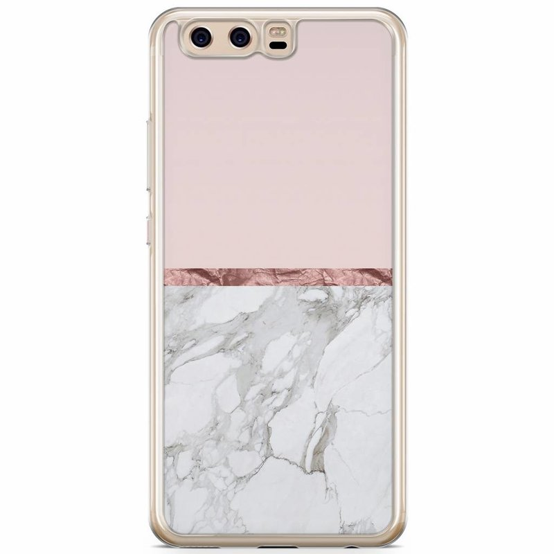 Casimoda Huawei P10 siliconen hoesje - Rose all day