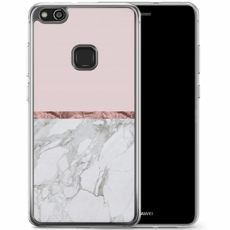 Casimoda Huawei P10 Lite siliconen hoesje - Rose all day