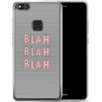Casimoda Huawei P10 Lite siliconen hoesje - Blah blah blah