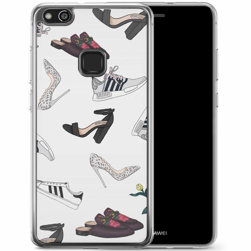 Casimoda Huawei P10 Lite siliconen hoesje - Shoe stash