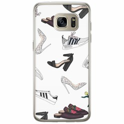 Samsung Galaxy S7 Edge siliconen hoesje - Shoe stash