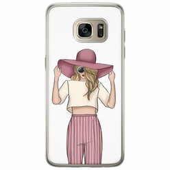 Casimoda Samsung Galaxy S7 Edge siliconen hoesje - Summer girl