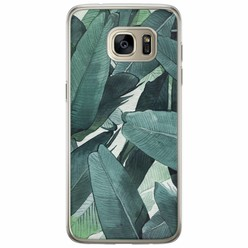 Casimoda Samsung Galaxy S7 Edge siliconen hoesje - Jungle