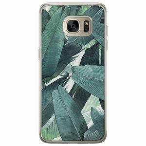 Samsung Galaxy S7 Edge siliconen hoesje - Jungle