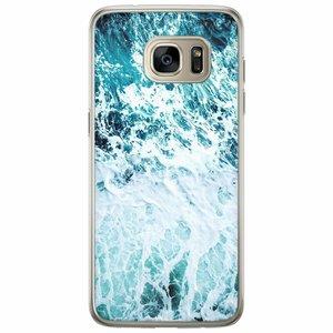 Casimoda Samsung Galaxy S7 Edge siliconen hoesje - Oceaan