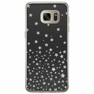 Casimoda Samsung Galaxy S7 Edge siliconen hoesje - Falling stars