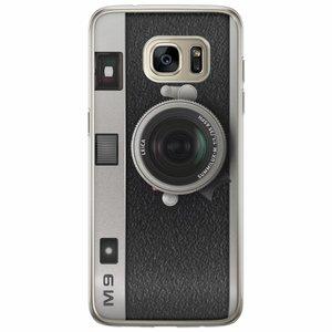 Casimoda Samsung Galaxy S7 Edge siliconen hoesje - Camera