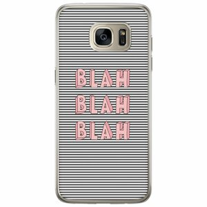 Casimoda Samsung Galaxy S7 Edge siliconen hoesje - Blah blah blah