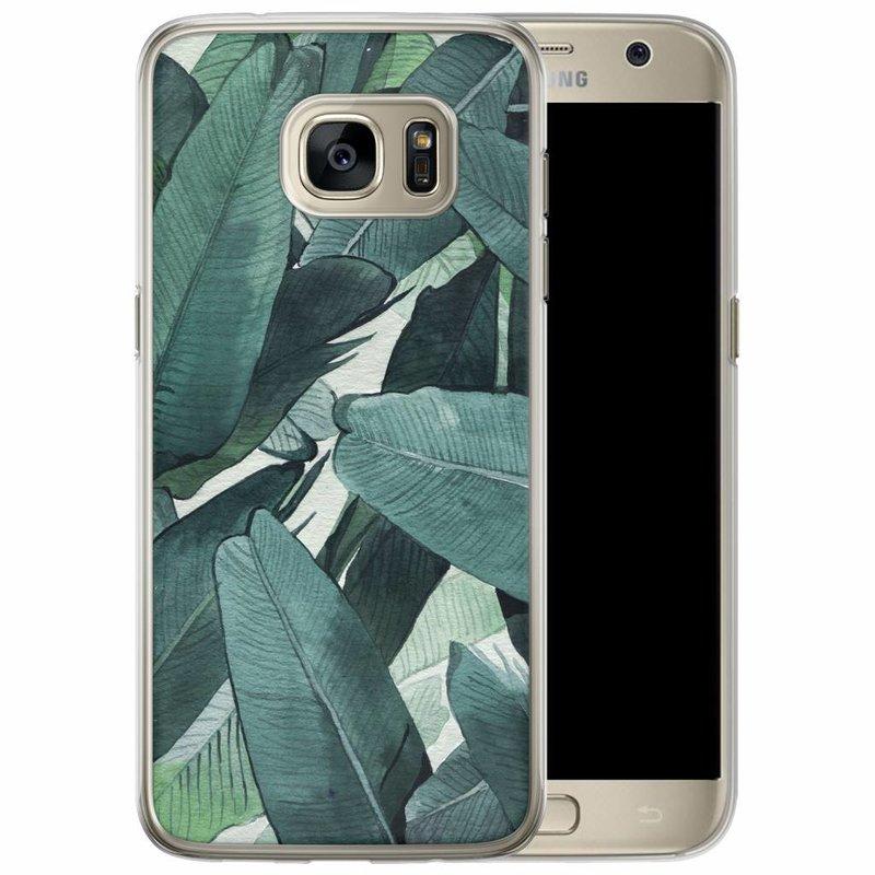 Casimoda Samsung Galaxy S7 Edge siliconen hoesje - Jungle