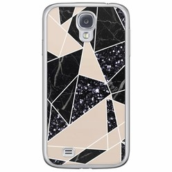 Casimoda Samsung Galaxy S4 siliconen hoesje - Abstract painted