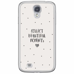 Samsung Galaxy S4 siliconen hoesje - Collect beautiful moments