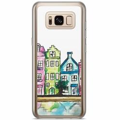 Samsung Galaxy S8 Plus siliconen hoesje - Amsterdam