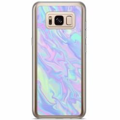 Samsung Galaxy S8 Plus siliconen hoesje - Hologram