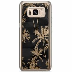Samsung Galaxy S8 Plus siliconen hoesje - Palmbomen
