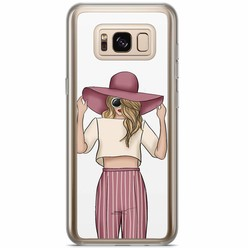 Samsung Galaxy S8 Plus siliconen hoesje - Summer girl