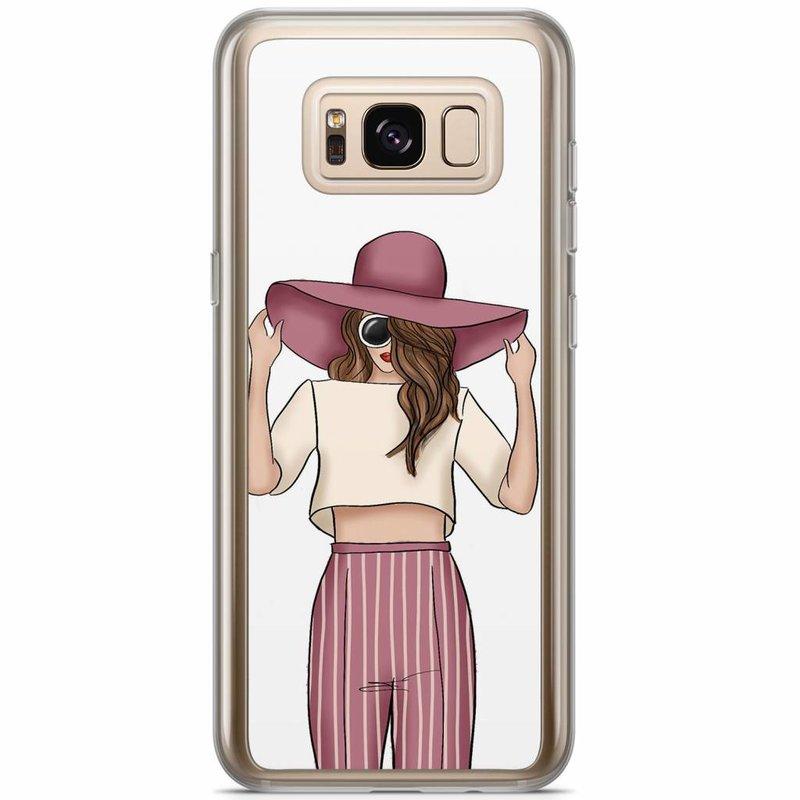 Casimoda Samsung Galaxy S8 Plus siliconen hoesje - Summer girl