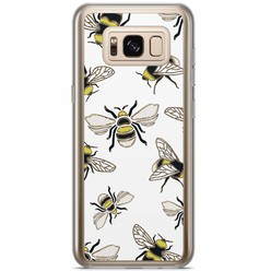 Samsung Galaxy S8 Plus siliconen hoesje - Queen bee