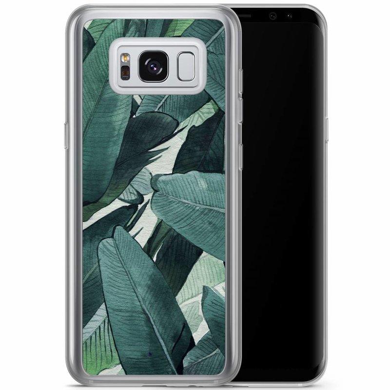 Samsung Galaxy S8 Plus siliconen hoesje - Jungle