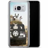 Casimoda Samsung Galaxy S8 Plus siliconen hoesje - Adventure awaits