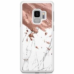 Samsung Galaxy S9 hoesje - Marble splash