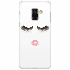 Samsung Galaxy A8 2018  hoesje - Fashion eyelashes