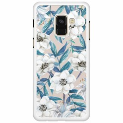 Samsung Galaxy A8 2018  hoesje - Touch of flowers